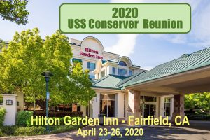 USS Conserver (ARS-39) 2020 Reunion @ The Hilton Garden Inn, Fairfield